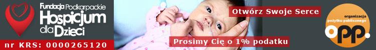 Podkarpackie Hospicjum dla Dzieci z siedzibą w Rzeszowie - pomóż nam pomagać chorym Dzieciom